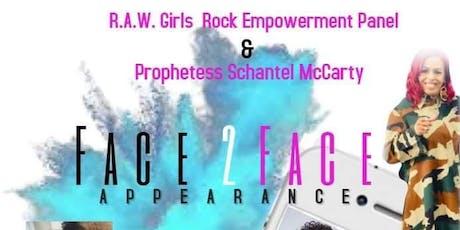 R.A.W GIRLS ROCK  EMPOWERMENT PANEL tickets