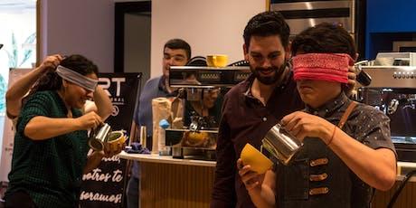 Arte Latte Throwdown por COFFEE WEEK MX (Parte 1) entradas