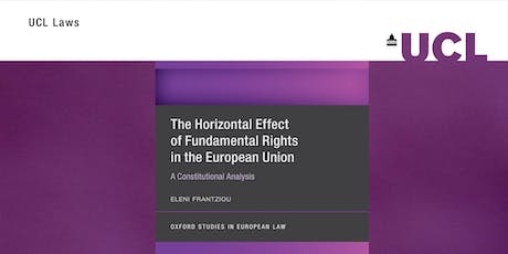 Book Launch: The Horizontal Effect of Fundamental Rights in the EU tickets