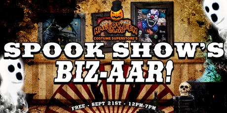Spook Show's Biz-aar! by Halloween Club tickets