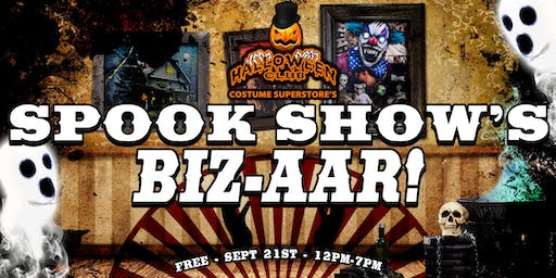 Spook Show's Biz-aar! by Halloween Club