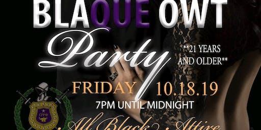 BLAQUE OWT PARTY