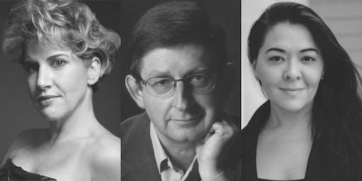 Heidi Moss Erickson, Kindra Scharich and John Parr