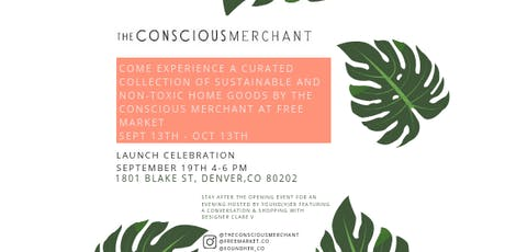 The Conscious Merchant Launch Party tickets