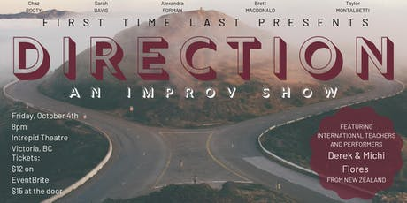 Direction: An Improv Show tickets
