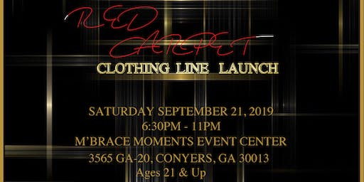 LLOYD SINCLAIR - RED CARPET CLOTHING LINE LAUNCH
