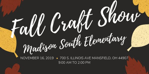 Annual Fall Craft Show