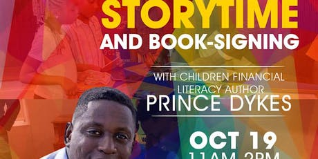 Storytime with Author Prince Dykes tickets