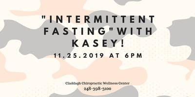 Intermittent Fasting with Kasey