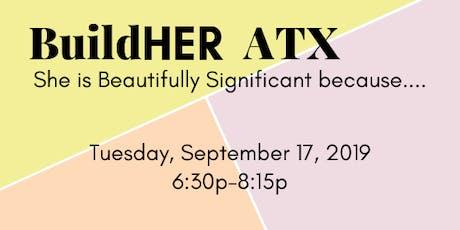 BuildHER ATX  tickets