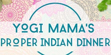 Yogi Mamas Proper Indian Dinner tickets