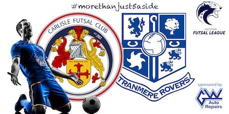 Carlisle Futsal v Tranmere Rovers Futsal tickets