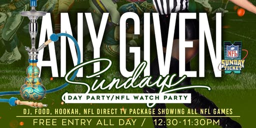Any Given Sunday Fun Day Football - Watch Party Kings - Every Week