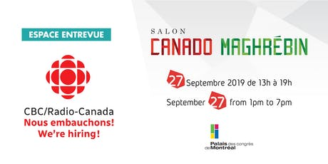CBC/RADIO-CANADA - Nous embauchons tickets