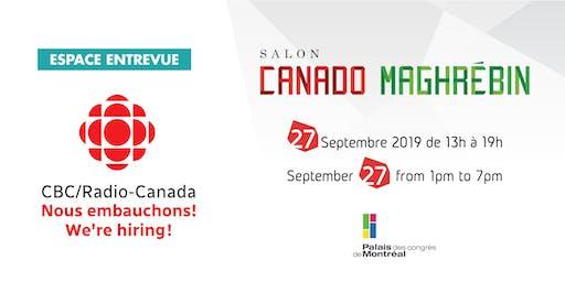 CBC/RADIO-CANADA - Nous embauchons