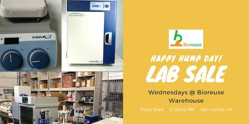 Bioreuse Science Equipment Warehouse Sale: Hump Day 9-18-19