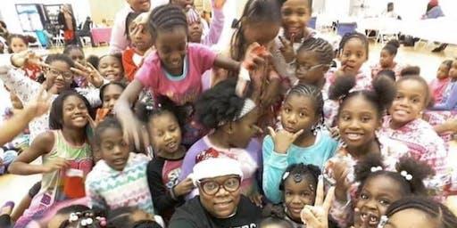 Annual All Girls Day Winter Wonderland PJ Party