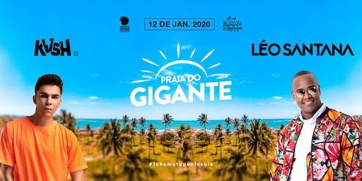 LÉO SANTANA E KVSH - PRAIA DO GIGANTE - 12.01.2020