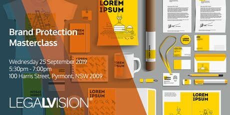 LegalVision Brand Protection Masterclass tickets