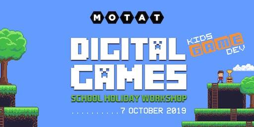 Kids Game Dev  School Holiday Workshop @ MOTAT