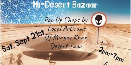 Hi-Desert Bazaar tickets