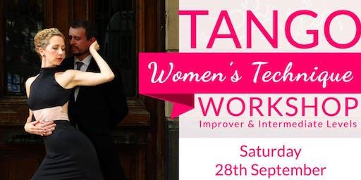 WORKSHOP: Tango Women's Technique