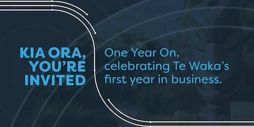 Te Waka - One Year On