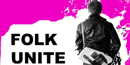 Folk Unite an evening of rock, folk, country and Irish acoustic music.