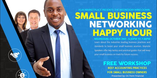 KLAS Marketplace Presents: Small Business Networking & Happy Hour