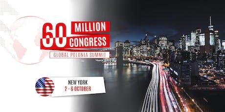 60 Million Congress - Global Polonia Summit_New York 2019 tickets