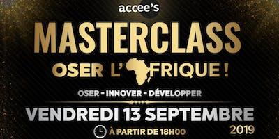 Masterclass Oser l'Afrique !