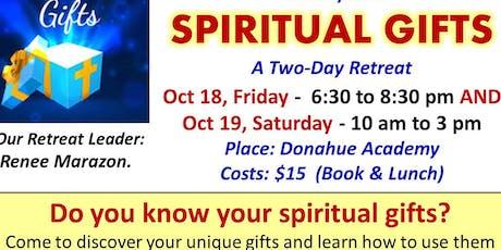 Ave Maria Spiritual Gifts Retreat tickets