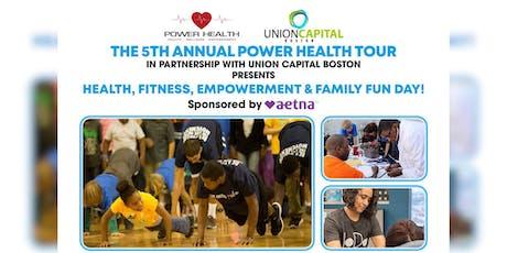 Power Health Tour tickets
