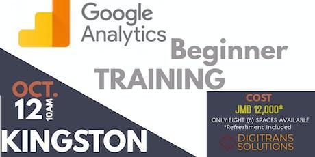 Google Analytics Beginner Training tickets