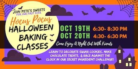 Pete's Sweets Hocus Pocus Halloween Class tickets