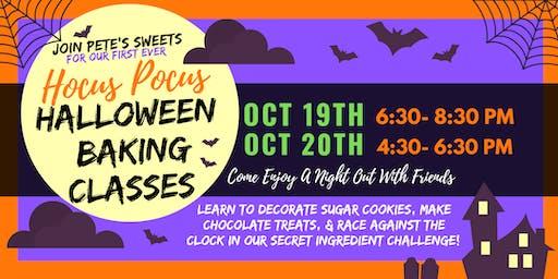 Pete's Sweets Hocus Pocus Halloween Class