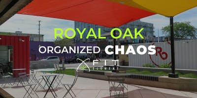 Royal Oak Organized Chaos Free Group Workout at Eagle Plaza Downtown