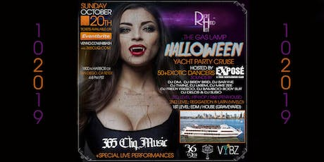 """The """"Gas Lamp Halloween Yacht Party"""" Cruise tickets"""