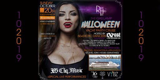 """The """"Gas Lamp Halloween Yacht Party"""" Cruise"""