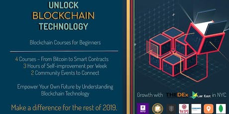 Unlock Blockchain Technology - Blockchain Courses for Beginners tickets