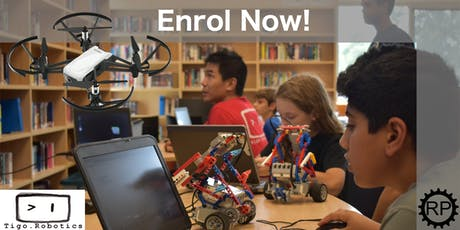 Drones and LEGO Robotics Camp! tickets
