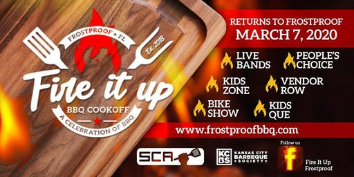 2020 Fire It Up! Frostproof - Team Registration