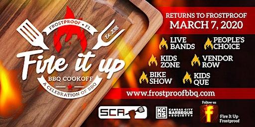 2020 Fire It Up! Frostproof - Team Registration