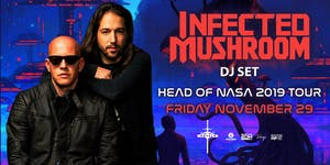 Infected Mushroom at Royale | 11.29.19 | 10:00 PM | 21+
