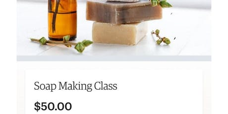 Soap Making Class tickets