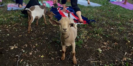 9/21 Saturday Evening Goat Yoga tickets