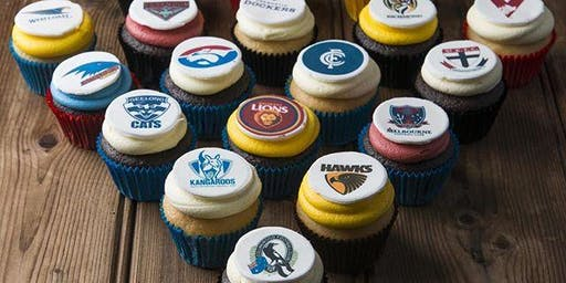 AFL Cupcake Decorating & Handball Competition!