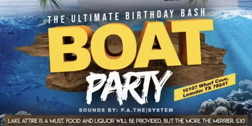 The Real Virgos of ATX Boat Bash♍️