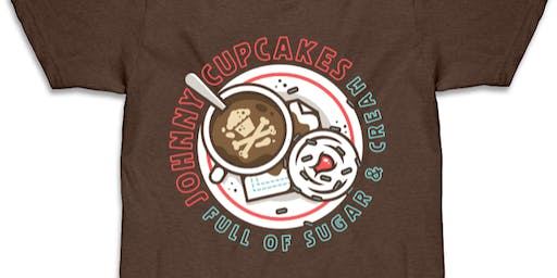 Johnny Cupcakes x Cinnaholic COFFEE DAY Pop-Up Shop (Southlake, TX)