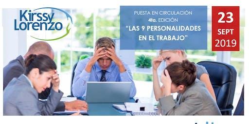 Puesta en circulacion Libro Las 9 personalidades en el trabajo